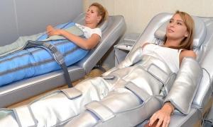 Прессотерапия: описание процедуры