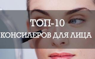 ТОП-10 консилеров для лица