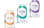 Yvoire: обзор препаратов