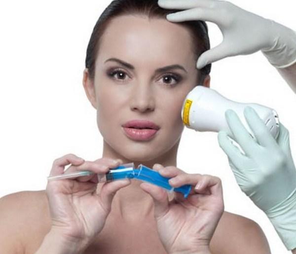 Гиалуроновую кислоту могут вводить с помощью лазера, инъекций