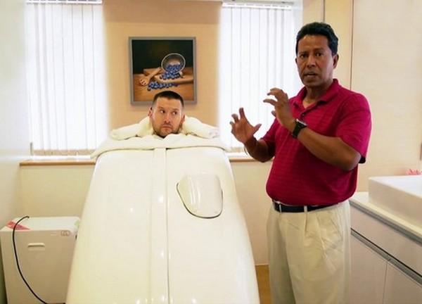 Рекомендуется принятие сухих озоновых ванн