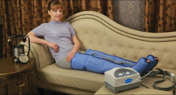 Прессотерапию можно делать даже в домашних условиях