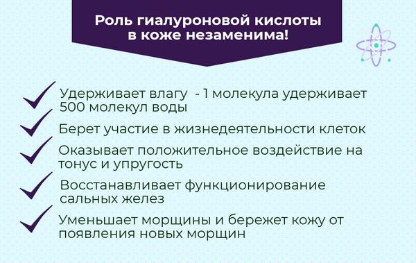 Гиалуронат является основным компонентом препаратов для омоложения
