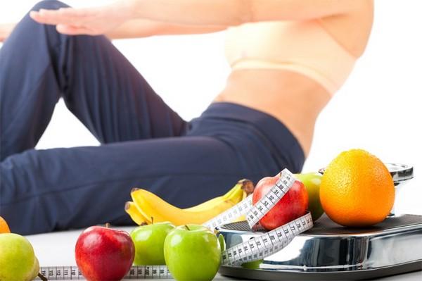 Занятия спортом, правильное питание – все это усилит эффект от приема душа Шарко