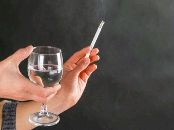 Пить и курить нельзя, пусть и на какое-то время