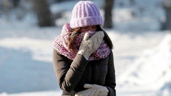 Время пребывания на холоде должно быть ограниченным