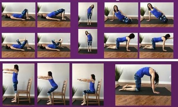 Можно выполнять различные упражнения