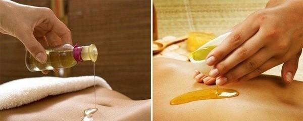 Делают такой массаж с использованием меда, масел