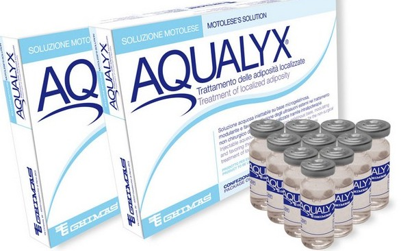 Для интралипотерапии обычно используют препарат «Акваликс»