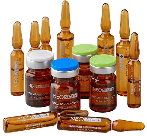 Препараты используются для восстановления кожи