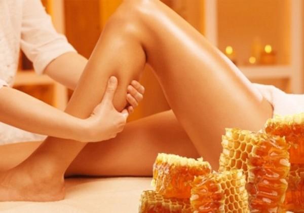 Важно, чтобы при массаже использовался натуральный мед
