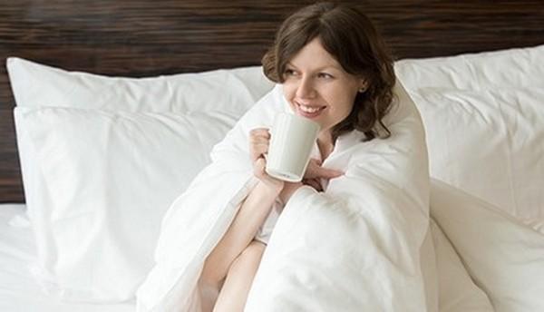 После массажа рекомендуется укутаться, например, в одеяло