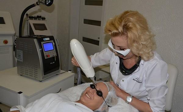 Использование неодимового лазера не приносит вреда организму