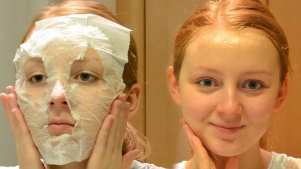 Раз в неделю коже нужна глубокая очистка, например, с помощью масок
