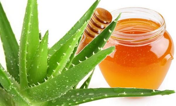 Маска с медом и алоэ невероятно эффективна