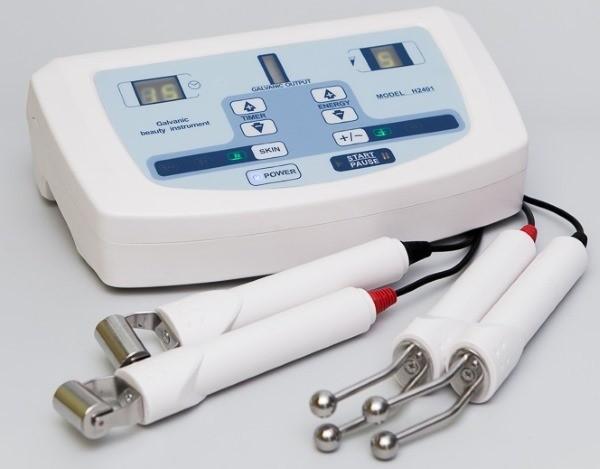 Используют активный и пассивный электроды