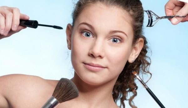 Нельзя пользоваться косметикой во время реабилитации