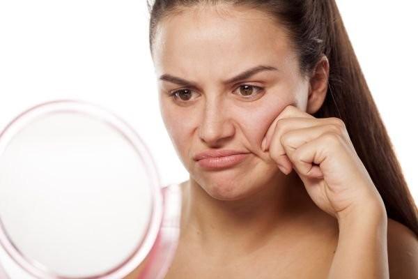 Из-за резкой потери веса кожа на лице может обвиснуть