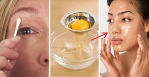 Яичный белок издавна использовали в борьбе с морщинами