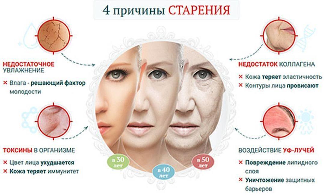 4 причины старения