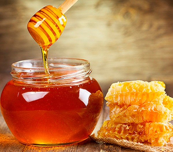Мед – хороший абсорбент