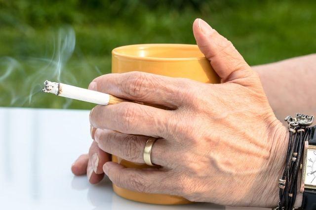 От курения тоже следует отказаться