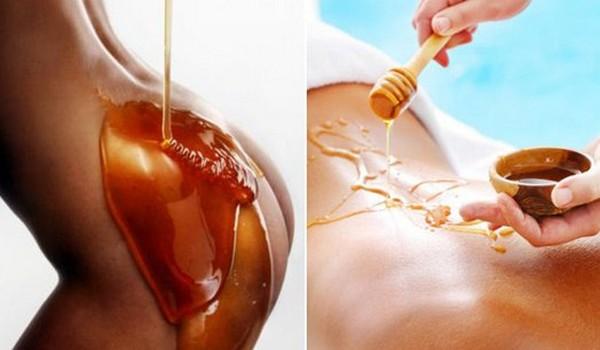 Из-за свойств мёда можно добиться яркого эффекта уже после первой процедуры