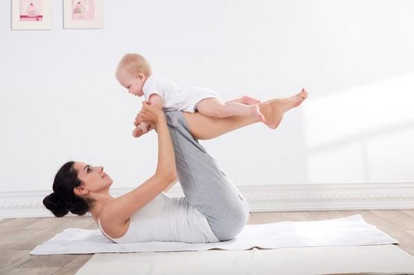 Упражнения – основной способ возвращения тела к дородовому состоянию