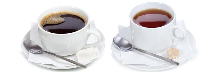 Рекомендуется ограничить употребление кофе и чая