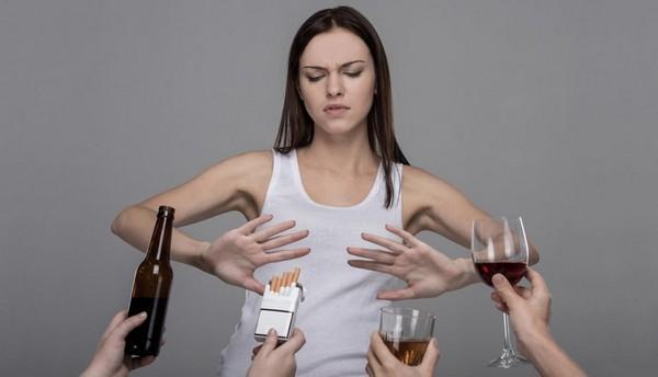 Стоит перед процедурой прекратить приём алкоголя, курение сигарет