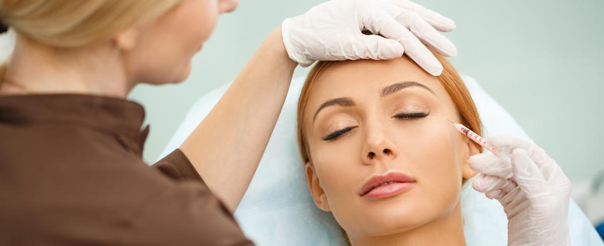 Инъекции ботокса положительно сказываются на внешнем виде кожи