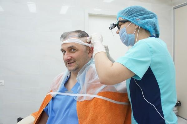 Графты успешно приживаются при бесшовном методе пересадки