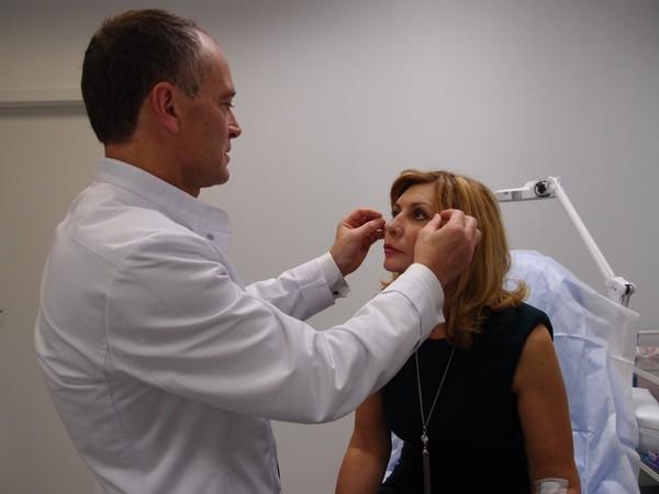 Результат во многом зависит от профессионализма врача