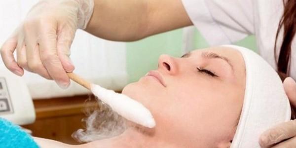 Эффективен также массаж жидким азотом