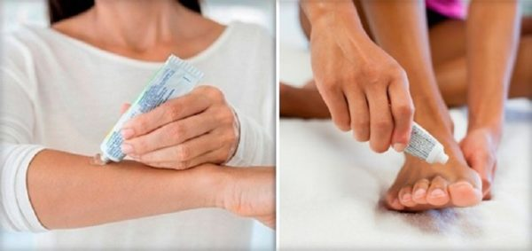 После процедуры кожу обрабатывают «Левомеколем»