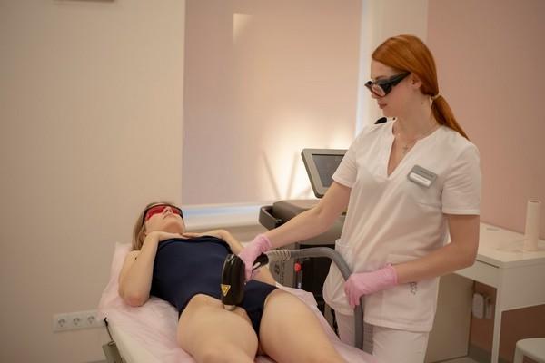 Не всегда видно своими глазами работу врача лазером