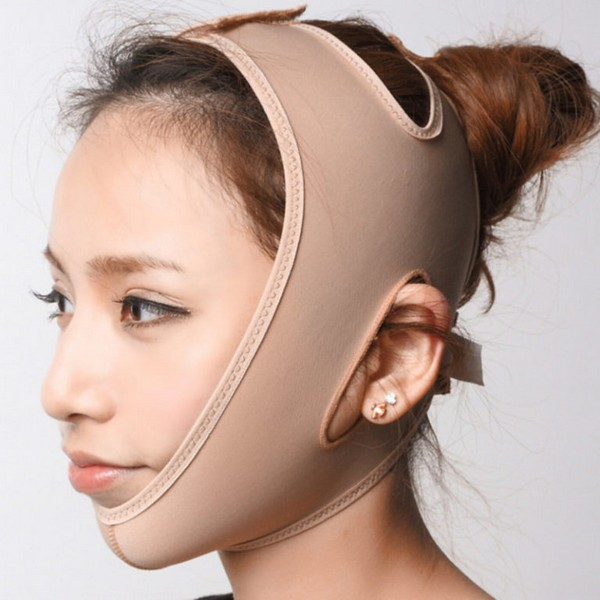 Существует даже специальный бандаж для лица