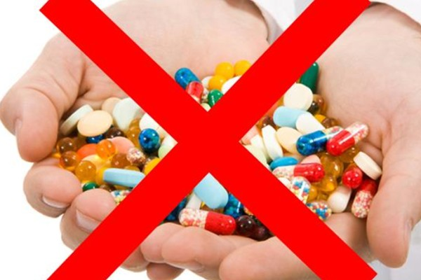 Некоторое время нельзя принимать антибиотики