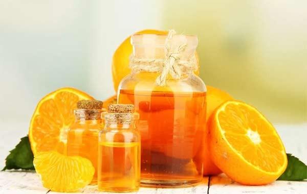Делают также средство с апельсином
