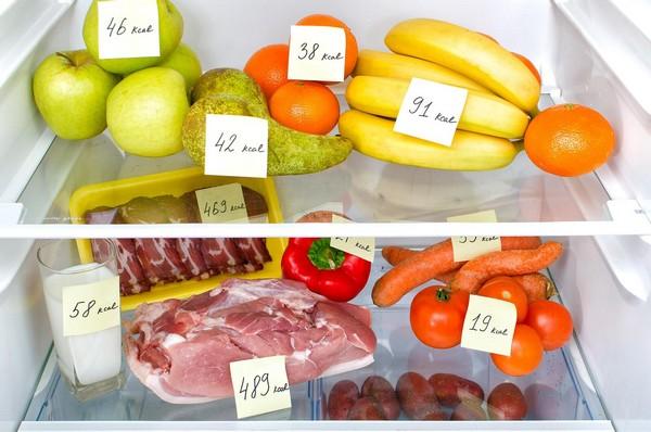 Нужно следить за количеством потребляемых калорий