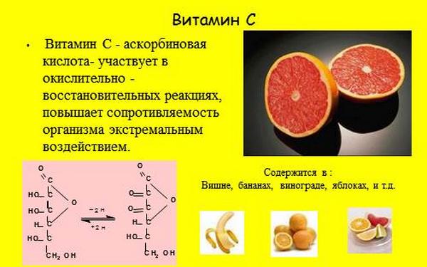 Можно дополнительно использовать витамин С