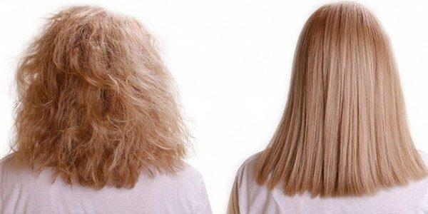 Волосы становятся здоровее