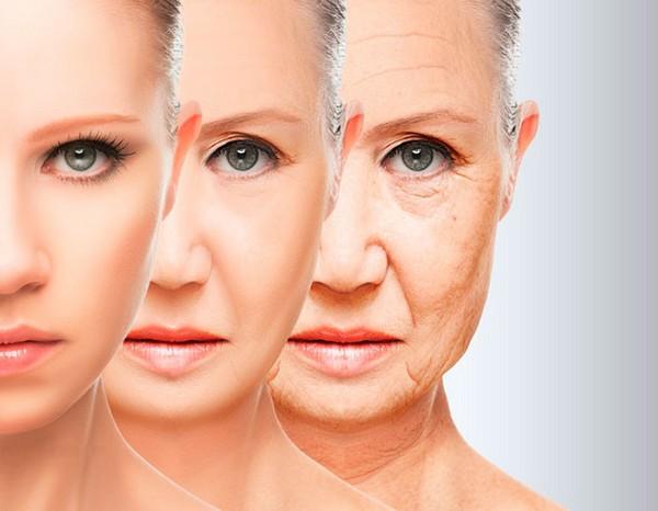 После 35 лет возрастные изменения активно проявляются
