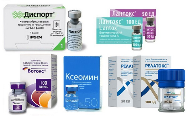 Ботулотоксин действует несколько иначе