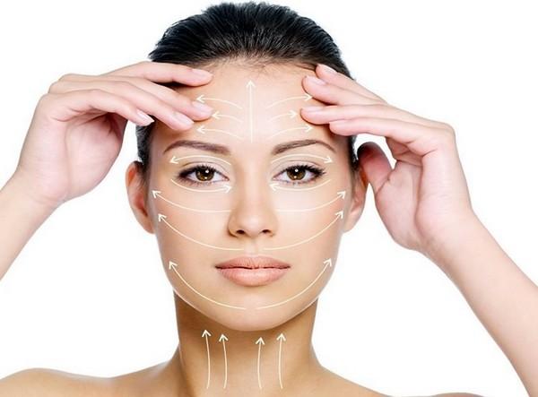 После процедуры кожа лица более подтянутая
