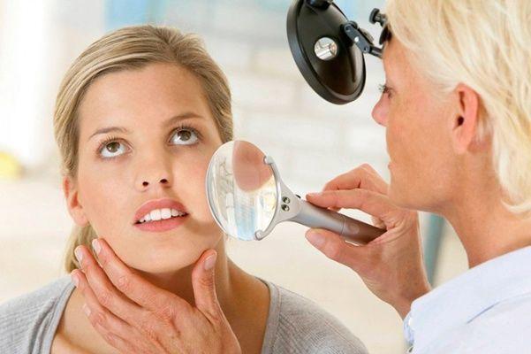 Все начинается с консультации дерматолога