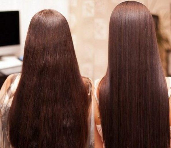 Из-за кератинового выпрямления цвет волос может измениться
