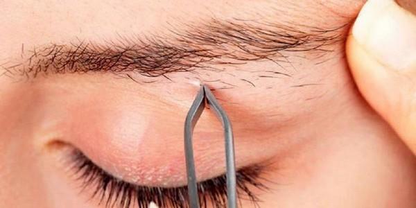 Нельзя выщипывать волоски с бровей до процедуры