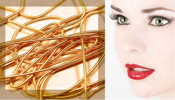 Золотые нити не только хорошо приживаются, но и являются отличными антиоксидантами