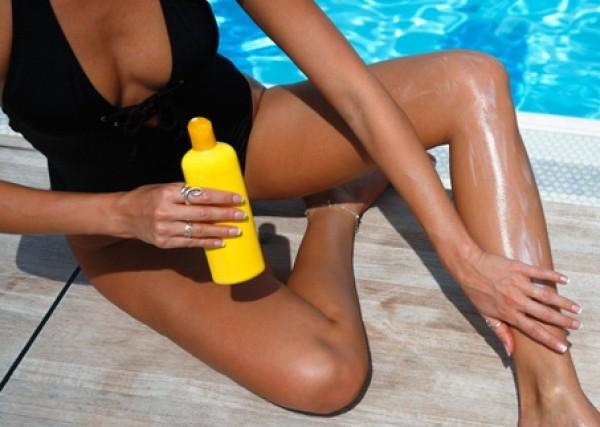 Нужно использовать солнцезащитный крем в области, где проводилась эпиляция